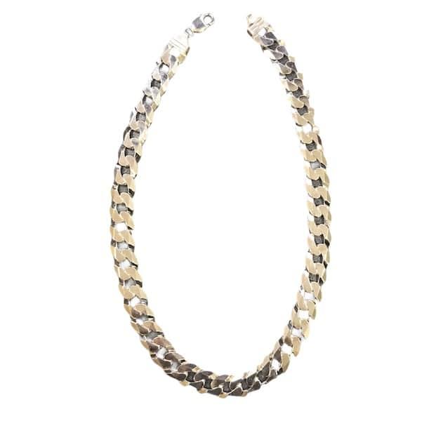 collane in argento da uomo