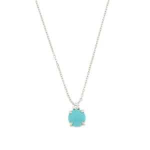 collana con pietra azzurra